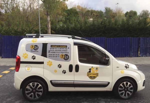 Beşiktaş'da Pet Taksi Evcil Hayvanlarınızı İstediğiniz Yere Götürün